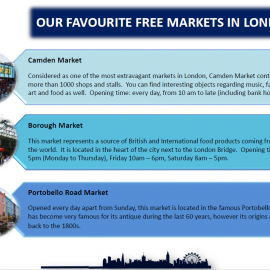 Our favourite free markets in London