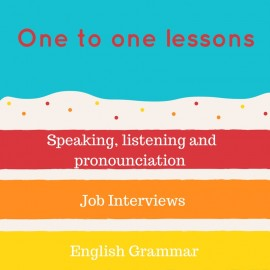Join our one to one lessons