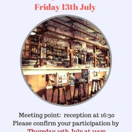 Our next social event: Language Exchange at Shakespeare's Head Pub