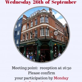 Our next social event: Language exchange at Crown and Anchor Pub