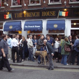 The French house : Un pub Londonien historique.