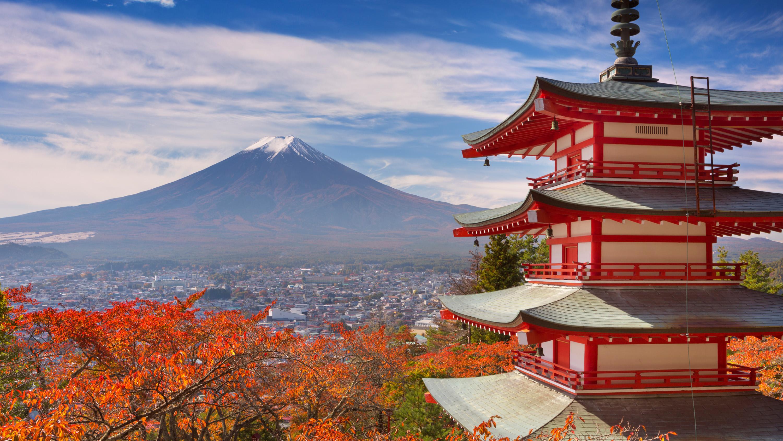 12-Chureito-pagoda-and-Mount-Fuji-Japan_(29677439878)