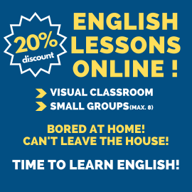 English lessons online available!