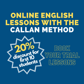 Online English Lessons with the Callan Method