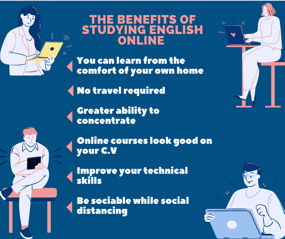 benefits of english online